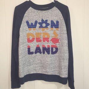 Disney Alice In Wonderland Sweatshirt Size S